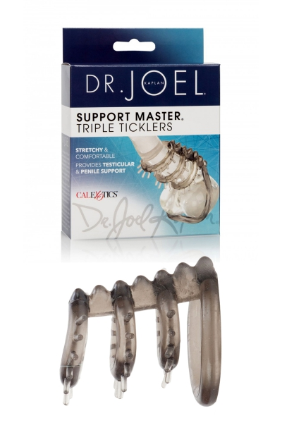 Cockring Support Master triple ticklers
